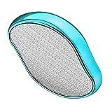 2in1 Nano Glas Hornhautentferner, Nano Glas Hornhauthobel- Hornhautfeile für Samtweiche Füsse - Professionelle Fußfeile Fußpflege für Beseitigung von Hartem Kallus Abgestorbener und Rissiger Haut